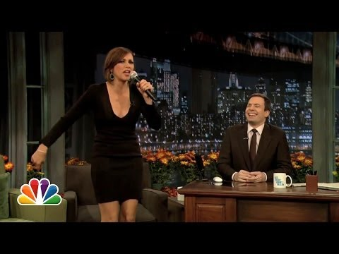 Rashida Jones: I Love Stuffing Late Night with Jimmy Fallon