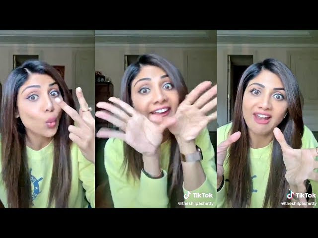 Shilpa Shetty's Latest FUNNY 😂😂😂 Tik Tok Videos | Bollywood Actress Tik Tok 2020