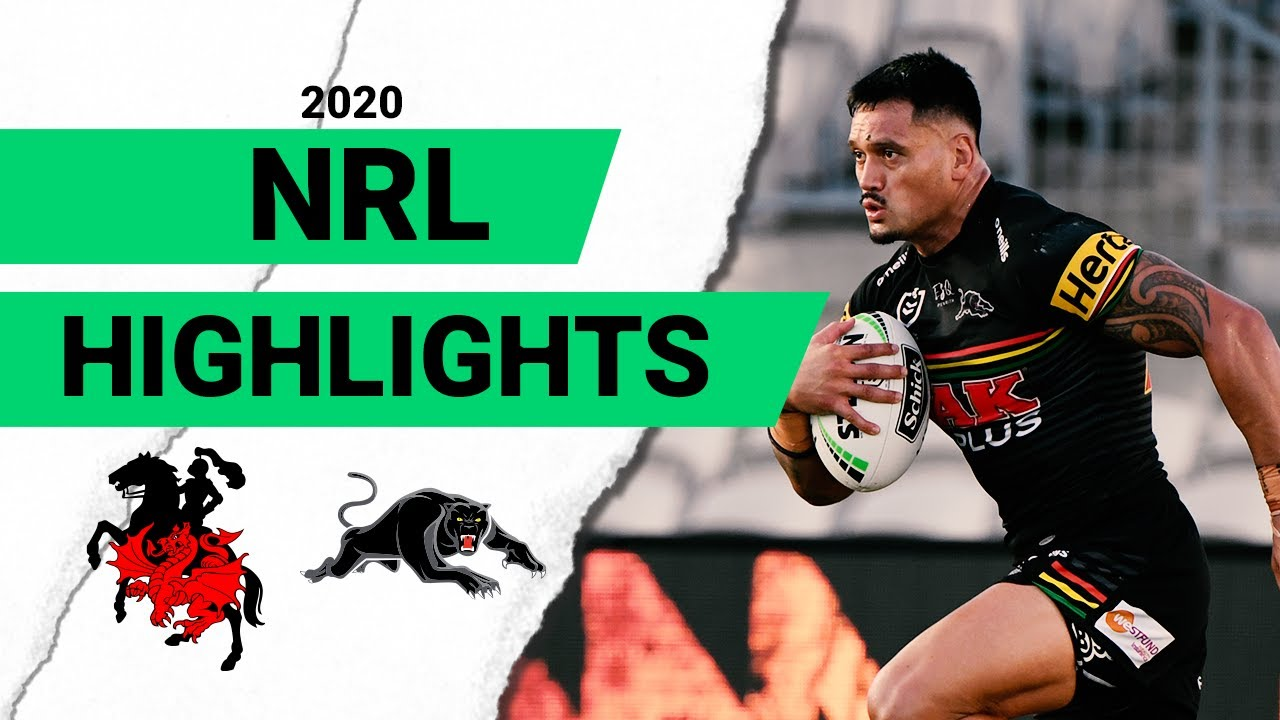 Dragons v Panthers Match Highlights | Round 2 NRL 2020 | National Rugby League – NRL – National Rugby League