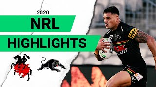 Dragons v Panthers Match Highlights | Round 2 NRL 2020 | National Rugby League