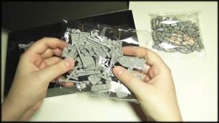 69. Silent Unboxing: Lego Architecture (Burj Khalifa) - SOUNDsculptures (ASMR)