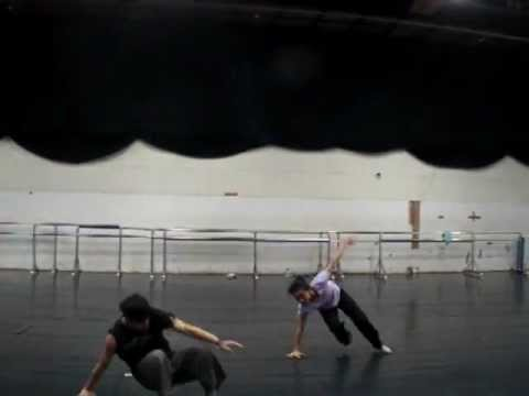 Contemporary Dance Class by Cody Choi - Devil Art with student in Taiwan