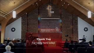 Worship Service, April 18, 2021