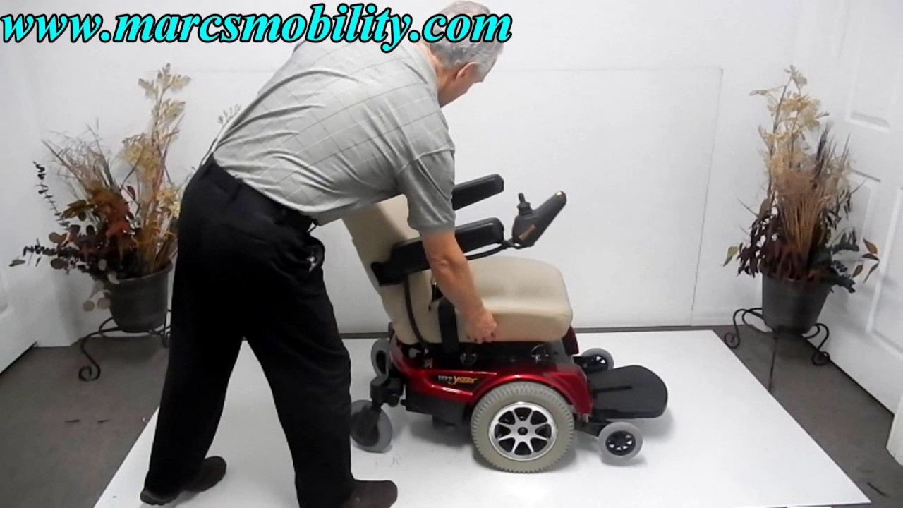 Pride Mobility Jazzy 1122 Fast Used Power Chair on