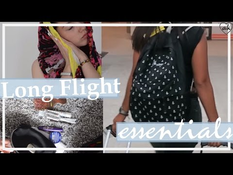 How to pack a carry-on | essentials for flights| ♥ANNA KAISER♥