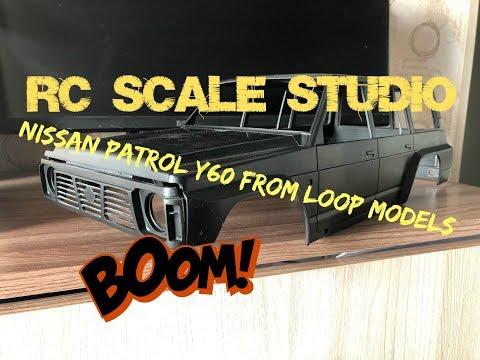 Rc Scale Studio Model 4x4 1:10 Nissan Patrol Y60 From Loop Models
