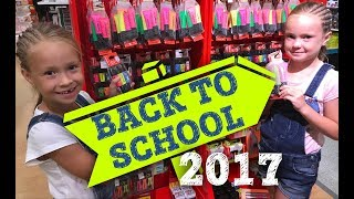 BACK TO SCHOOL 2017 || КАНЦЕЛЯРИЯ В ШВЕЙЦАРИИ Покупки канцелярии / КУПИЛИ СПИННЕРЫ