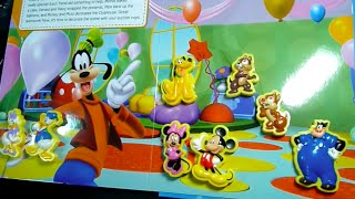 Disney Story Book  MICKEY MOUSE MINNIE MOUSE DONALD DUCK CHIP & DALE and more!