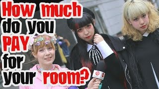 How much do you pay for rent in Japan? Ask Japanese students at Bunka Fashion college
