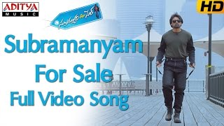 Subramanyam For Sale Full Video Song || Subramanyam For Sale  Video Songs