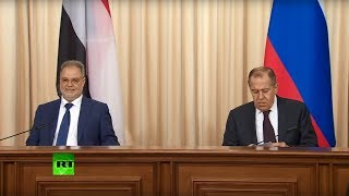 Лавров и глава МИД Йемена подводят итоги переговоров