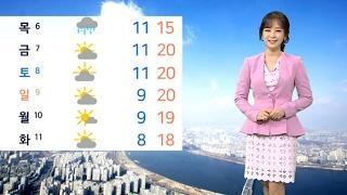 [날씨] 전국 오후부터 '봄비'…오전 중부지방 미세먼지↑ / 연합뉴스TV (YonhapnewsTV)