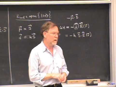 PHYS 221A 2010:11:19   Lec 35   Spatial and Spin Degrees of Freedom and Time Reversed Motion