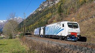 zugverkehr auf der brennerbahn ferrovia del brennero lokomotion rtc trenitalia bb