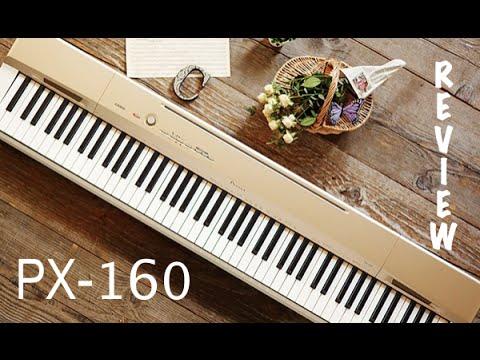 Review do Casio Privia PX 160 Demo