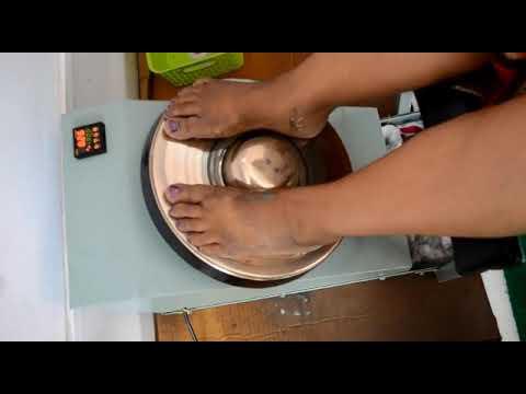 Kansa Thali Massage Machine Youtube