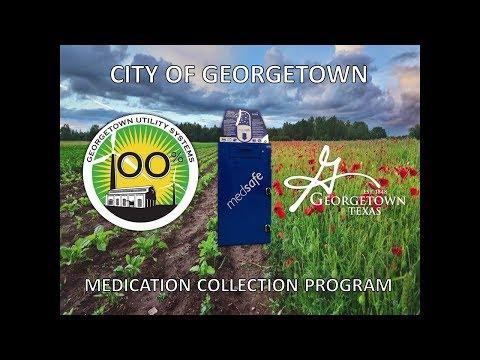 Med Take-Back Workshop 2017 - Georgetown's Medication Collection Program