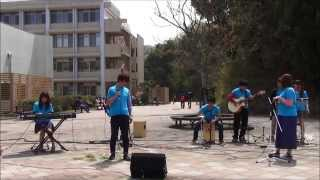 2014.04.09に行われた Rhythm & Harmonyによる新入生歓迎を込めたデモ演...