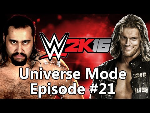 WWE 2K16 Universe Mode - Episode 21: Two For the Show
