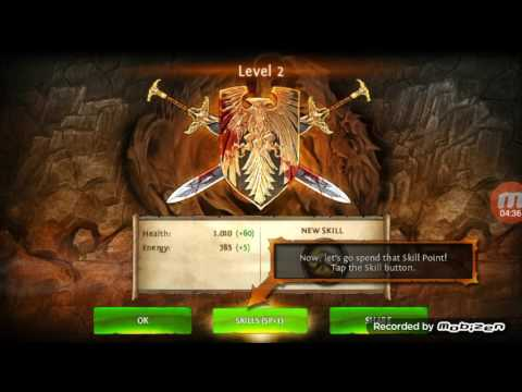Dungeon Hunter 4 #1 Road To LVL Max Warrior