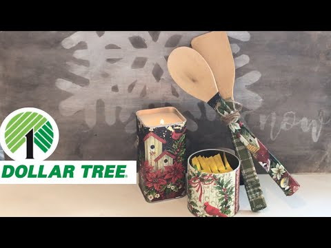 DOLLAR TREE DIY GIFT IDEAS and HOME DECOR | Upcycling Ideas