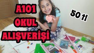 Okul Çantam'da Neler Var? 50 tl ye A101 Okul Alışverişi