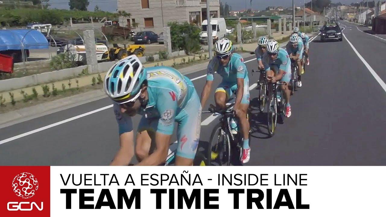 Vuelta A Espana 2013 - Team Time Trial - Inside Line