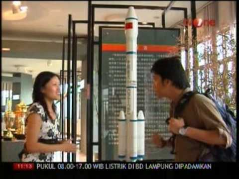 Study at Nanjing University Aeronautics Astronautics on Indonesian TV part 1