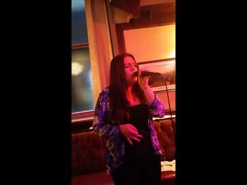 Natasha singing Hallelujah. Balmoral. Bolton