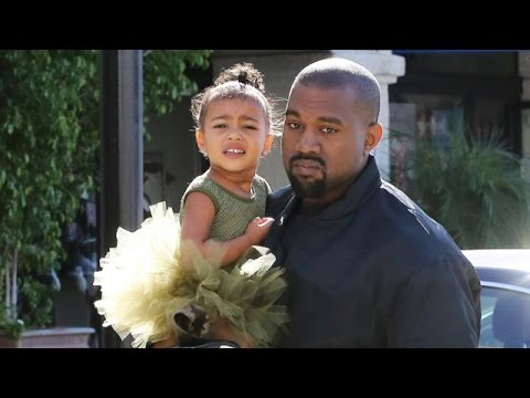 North West Is Adorable In Green At Dance Class With Kanye, Kourtney And Penelope