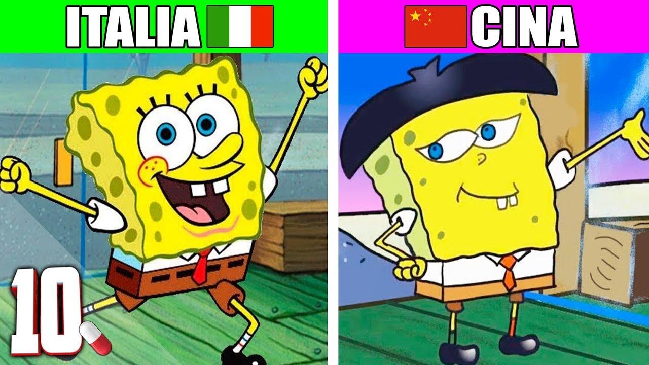 Come cambiano i cartoni animati negli altri paesi