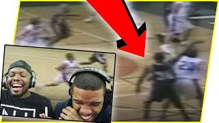 Reacting To iMAV3RIQ's High School Basketball Game