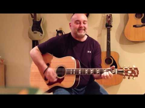 How to play Brown Eyed Girl - Van Morrison (cover) - Easy 4 Chord Guitar Tune