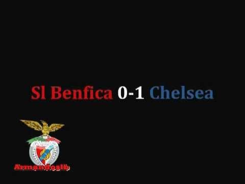 Benfica 0-1 Chelsea RELATO ANTENA1 LIGA DOS CAMPEOES 2012
