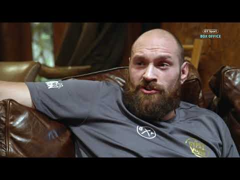 Tyson Fury makes a mockery of Deontay Wilder's last six opponents during savage interview