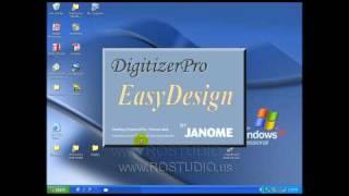 Janome Digitizer Pro Beginner Video Tutorial with Catina Ferraine