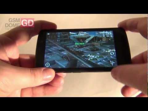 LG Optimus TrueHD LTE video review - GSMDome.com
