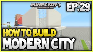 Minecraft Xbox - How To Build A Modern City (EP.29) - Tescos Part 2