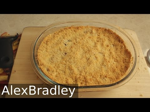 Apple & Blackberry Crumble Recipe | AlexBradley
