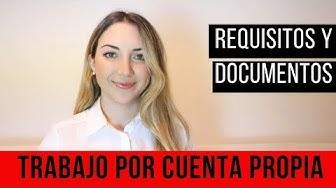 Trabajo por Cuenta Propia - Requisitos y documentación