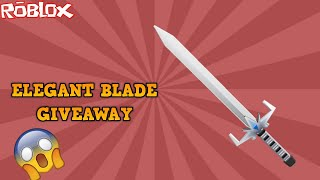 HOW TO GET A FREE ELEGANT BLADE! *BIG GIVEAWAY* (ROBLOX ASSASSIN)