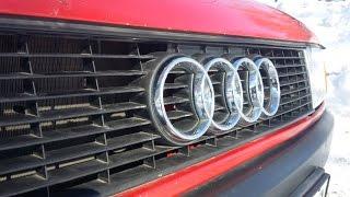 Audi 80 B3 обзор, тест - драйв.