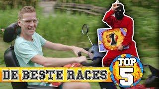 TOP 5 - DE BESTE RACES | KAAL OF KAMMEN