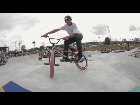 Ride BMX at Kalijodo Skatepark Jakarta