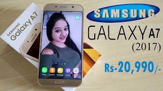 Samsung Galaxy A7 2017 Unboxing & Overview- In Hindi