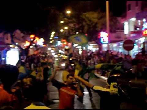 brazil fans in albufeira