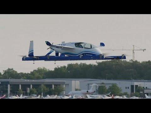 Paris Air Show: Airbus and Boeing present their autonomous air taxis