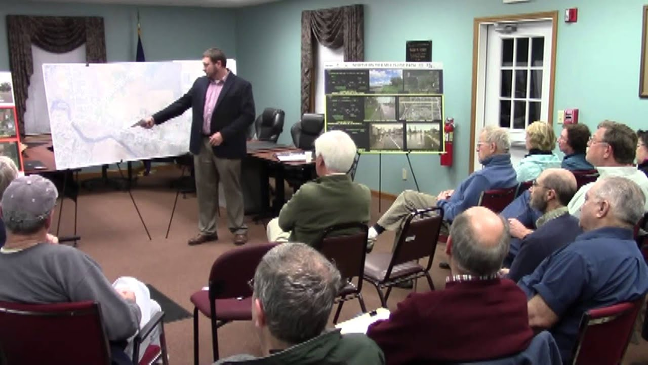 Champlain Bike Path Hearing  12-1-15