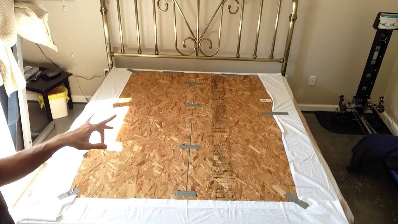 how to set up your boxspring for a new foam mattress king to cal king transition youtube. Black Bedroom Furniture Sets. Home Design Ideas