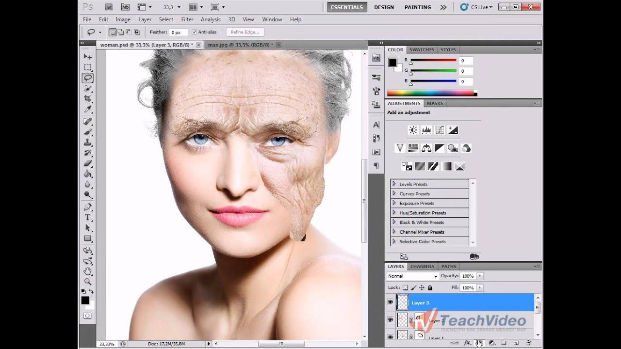 Как сделать цветным старое фото 636